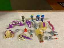Vintage 1989 Tyco DINO RIDERS Action Figures Vehicle Parts & Accessories LOT #1