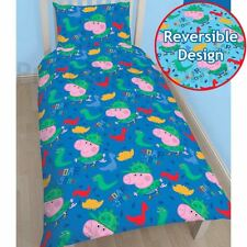 PEPPA COCHON George Roarsome Set Housse de couette simple réversible