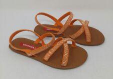 Union Bay Girls Gigi Orange Synthetic Sandals 12 M US Little Kid Unionbay SPDPTygc