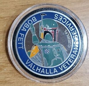 Pennsylvania Star Wars Charity Medallion PSWCS 2020 Boba Fett Challenge Coin