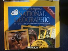 National Geographic Magazine 110 Years 31 Cd-Rom Set (1999) New
