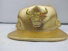 CHICAGO BULLS New Era Color Gold Snapback Hat
