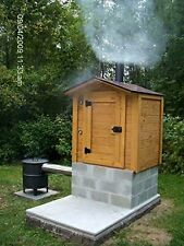 Build your own 8' X 6' Smokehouse / Smoker (DIY Plans) Easy to build! Save money