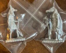 Reaper Miniatures Egyptain Statues Sobek & Anubis Dark Heaven Metal