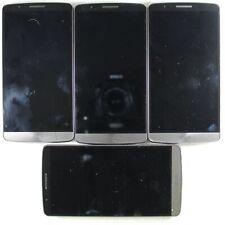 Lot of 4 LG G3 D850 Gray ASIS For Parts/Repair G3-Lot4-G