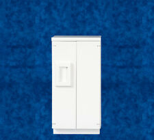 Dollhouse Miniature Kitchen Fridge - White - 2 door - T5299