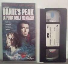 VHS FILM Ita Avventura DANTE'S PEAK La Furia Della Montagna no dvd(VHS25)