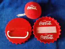 1999 Coca Cola Burger King Kid's Meal Toy Bottle Cap Ball Game - Coke