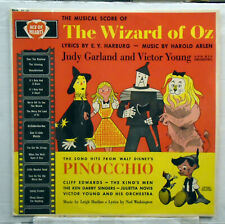 The Wizard of Oz - Judy Garland / Pinocchio - vinyl LP AH 121