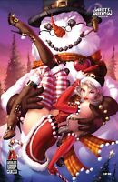 SOLD OUT: WHITE WIDOW #1 - JAMIE TYNDALL CHRISTMAS SEXY FROSTY EXCLUSIVE