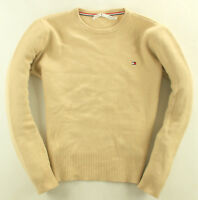 Tommy Hilfiger Pullover Sweater Wolle Beige Gr. L