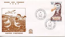 FDC / T.A.A.F. TERRES AUSTRALES TIMBRE PA N° 87 / FAUNE /
