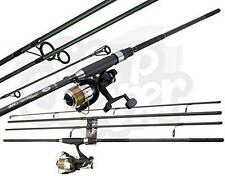 Carbon Travel Holiday Dynamic 11ft 4pc Carbon Carp Fishing Rod & 2BB Reel Set
