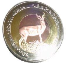 A411) Medaille WM 2010 FußballStadion Johannesburg Süd-Afrika SÜDAFRIKA Gepard