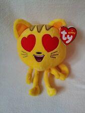 Emoji Movie Heart Ty Beanie Plush Soft Toy
