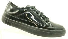 1d5e61dbc Fit Flop Black Patent Leather Lace Up Casual Comfort Oxfords Shoes Womens 8