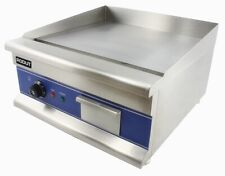RODUT ELECTRIC Griddle 50cm Catering Hotplate Plancha