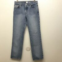 Calvin Klein size 5 Vintage High Waisted Mom Jeans Easy Low Rider Jean Life Wash