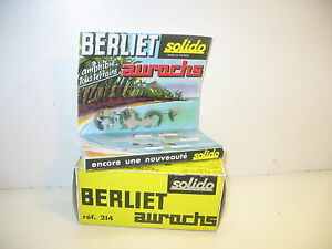 N70 Box Repro Berliet Auroch With Display Decor, Solido Ref 214