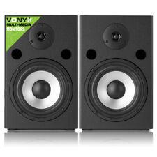 "Multimedia 6.5"" Studio DJ Monitors Speakers Pair Desktop Reference CR SM65"