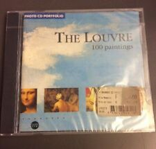The Louvre 100 Paintings Photo Cd Rom Portfolio Vintage Paris 1995 Sealed