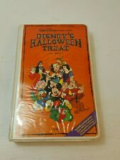 Authentic 1982 Disney's Halloween Treat Clamshell VHS Extremely Rare OOP VHS