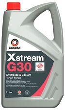 COMMA XSTREAM G30 READY MIX ANTIFREEZE / COOLANT 5L XSM5L