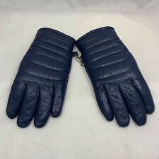 VTG Olympia Sports Co Womens Gloves Sz S Blue Fleece Lined Top Grade Cowhide