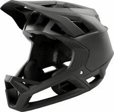 Fox Racing Proframe Full Face: Matte Black Helmet SM