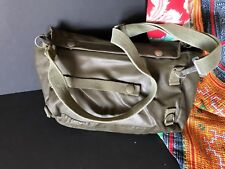 Vintage German Military Bag with Shoulder Strap (b) …beautiful collection item