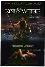 THE KING'S WHORE Movie POSTER 27x40 Timothy Dalton Valeria Golino Feodor