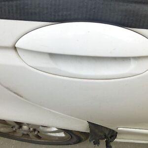 JAGUAR X TYPE 2001 02 03 04 05 06 07 2008 RIGHT REAR EXTERIOR DOOR HANDLE WHITE