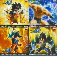 Banpresto DragonBall Z Kai Super Effect 4 Figure Son goku Vegeta Son gohan Nappa