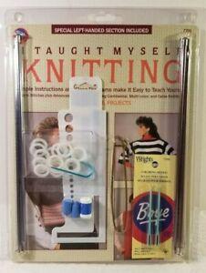 Boye I Taught Myself Knitting Kit (Special Left Handed Section) #6398