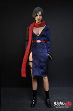 "1/6th Resident Evil Ada Wong Costume Clothes Suits Set F 12"" Female Figure Body"