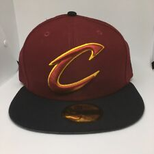Cleveland Cavaliers New Era 59FIFTY Cap Fitted Maroon/Black cardinal 2 tone7 1/2