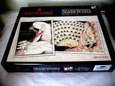 MOULIN ROUGE Vintage French Poster Art 1000 Piece Puzzle by Go! Games NEW SEALED