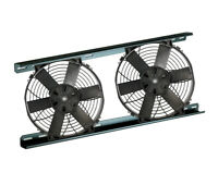 "Radiator Cooling Dual 12"" Electric Fan Kit (12V) (Part #0080) (Davies Craig)"