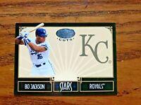 2004 Leaf Certified Cuts Stars Bo Jackson #533/599 - Royals