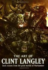 The Art of Clint Langley - Black Library - Rare!