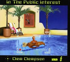 """Dave """"Clem"""" Clempson - In the Public Interest [New CD] Germany - I"""