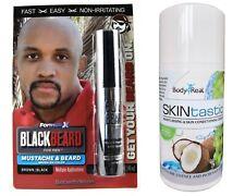 Blackbeard Temporary Colour Brown Black + SKINtastic Vegan Moisturizing Cream