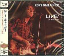 RORY GALLAGHER-LIVE! IN EUROPE-JAPAN SHM-CD D50