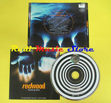 CD Singolo REDWOOD Anything goes PROMO 1998 ALMO CDALM49PR no lp mc dvd vhs (S9)