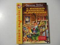 Il misterioso manoscritto di Nostratopus Geronimo Stilton ed.PIEMME - LIBRO