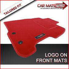 HONDA CIVIC 3DR Type R 01-06 Tapis de sol auto sur mesure rouge luxe velours +