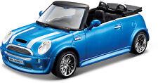 Mini Cooper S Cabriolet blau Maßstab 1:32 von bburago