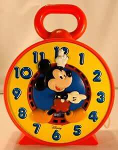 1981 Mickey Mouse Tells Time See N Say See and Say Mattel Working in Great Cond
