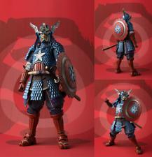 Samurai Captain America Meisho Manga Realization Action Figure iNew In Box
