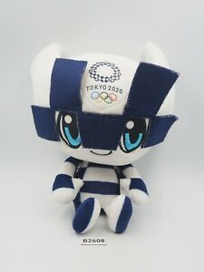 "Tokyo Japan Olympic 2020 B2608 Miraitowa Mascot Plush 7"" Toy Doll Japan"